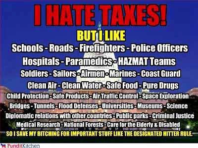 Taxes-nonsense